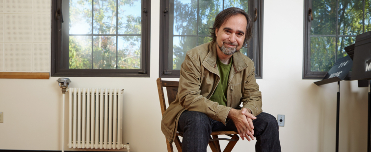 UW composer Juan Pampin (Photo: Steve Korn)