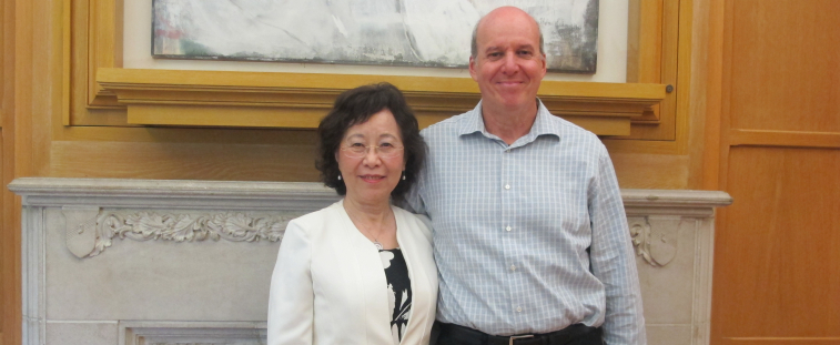 Molly Gong and Richard Karpen