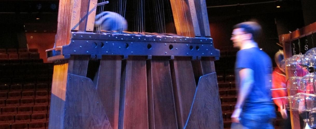 Harry Partch instruments at the UW