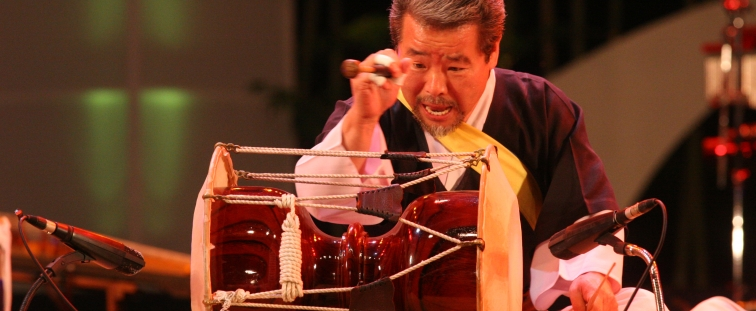 Mr. Kim Duk Soo will be joining us at our 8th annual Smithsonian Folkways certification course in World Music Pedagogy