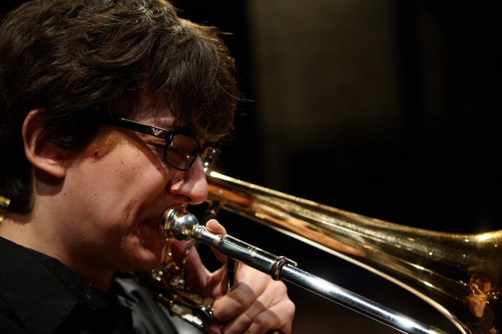 Small jazz combos perform in Brechemin on May 16 (photo: Steve Korn).