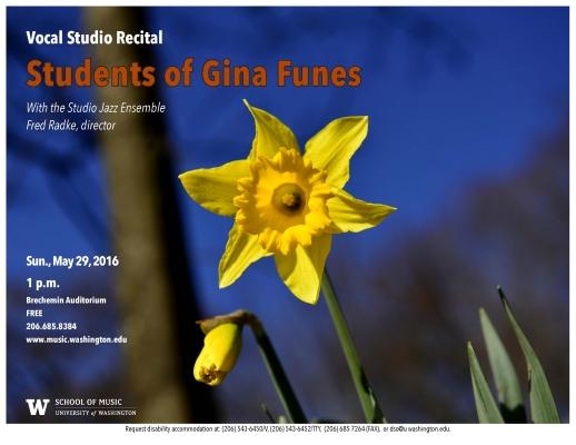 Gina Funes Vocal Studio Recital image