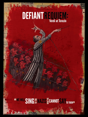 Defiant Requiem poster graphic