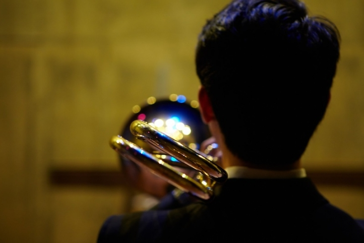Image of student brass musician