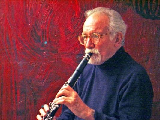 Professor Emeritus Bill Smith, clarinet