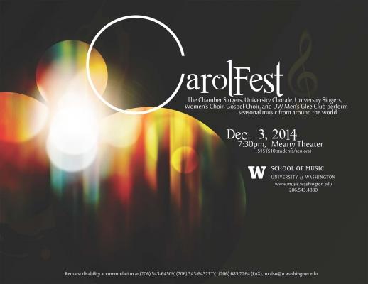 Carolfest poster image