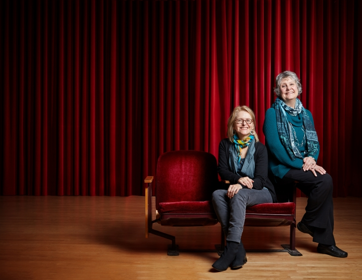 Faculty members Cyndia Sieden, soprano, and Rhonda Kline, piano, present a recital Feb. 18 at the School of Music (Photo: Steve Korn).