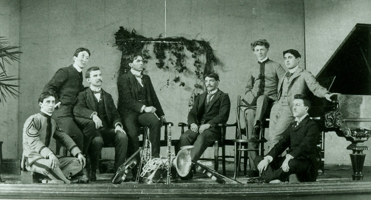 The UW's first orchestra