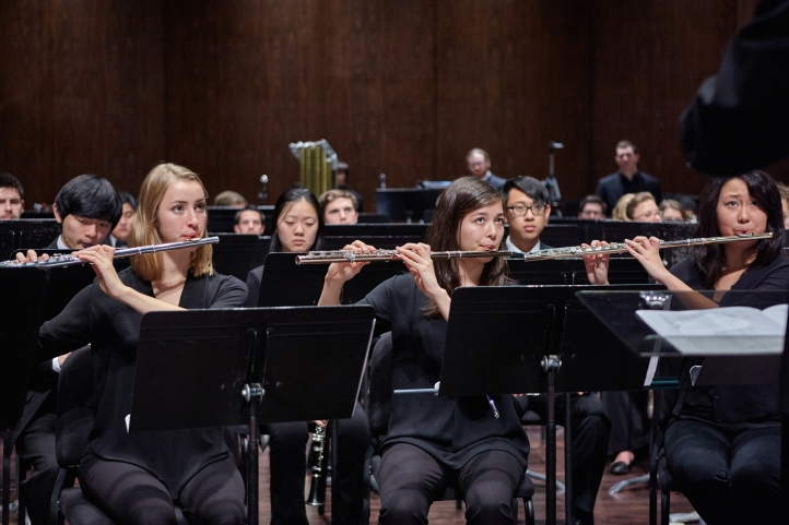 Wind Ensemble flute section