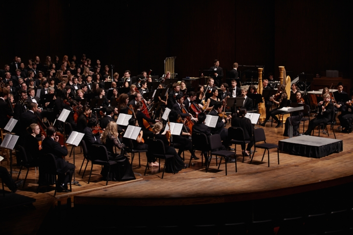 UW Orchestra and Combined UW Choirs