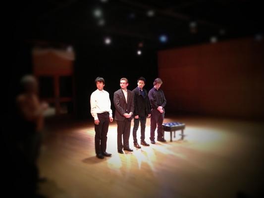 Taro Kobayashi, Aaron Torres, Denis Ha, and Kevin Karcher