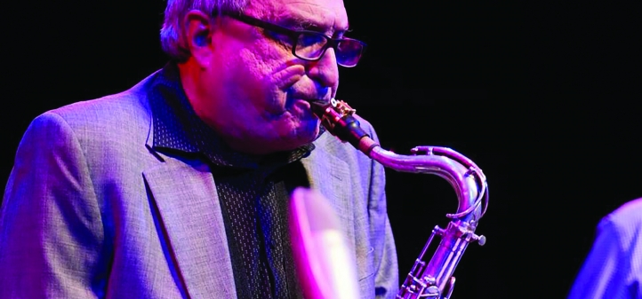 George Garzone performs with UW Music faculty in March and April.