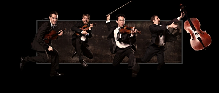 JACK Quartet - photo by Stephen Poff