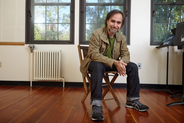 UW composer Juan Pampin (Photo: Steve Korn)
