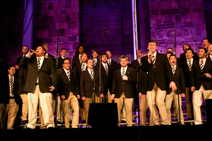 UW Men's Glee Club performs at Meany Theater on March 1.