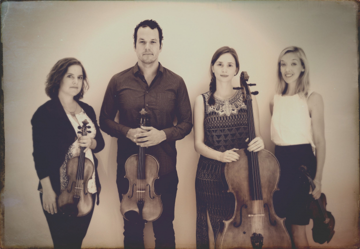 Mivos Quartet performs music of UW faculty composers on Oct. 23 at Meany Theater Photo: Courtesy the artists).