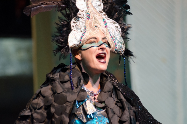 Alexandra Picard as the Queen of the Night in Tacoma Opera's production of the Magic Flute