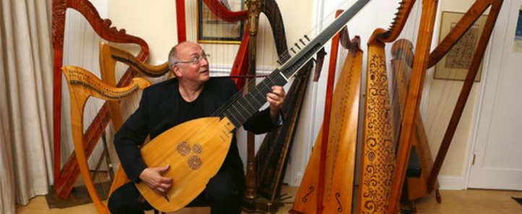 Pacific MusicWorks artistic director Stephen Stubbs (Photo: Ken Lambert, Seattle Times)