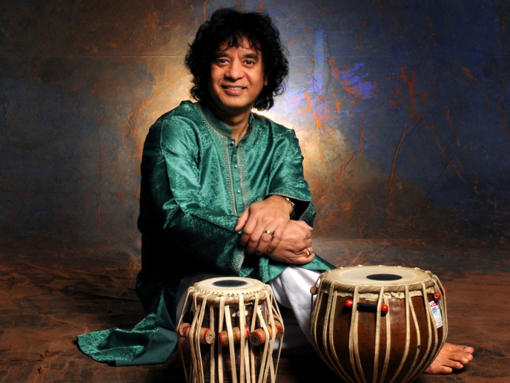 Zakir Hussain, photo by Jim McGuire