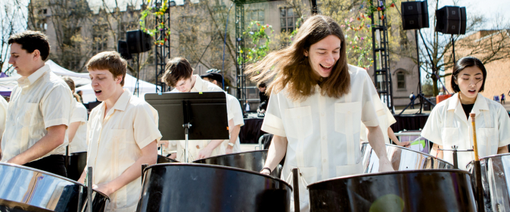 UW Steelband (Photo: Lucas Boland Photography)