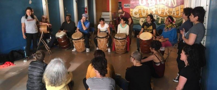 A bomba workshop with Amarilys Rios