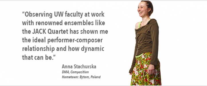 Anna Stachurska composition quote