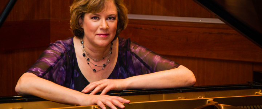 Pianist Audrey Andrist Photo: Sarah Tundermann