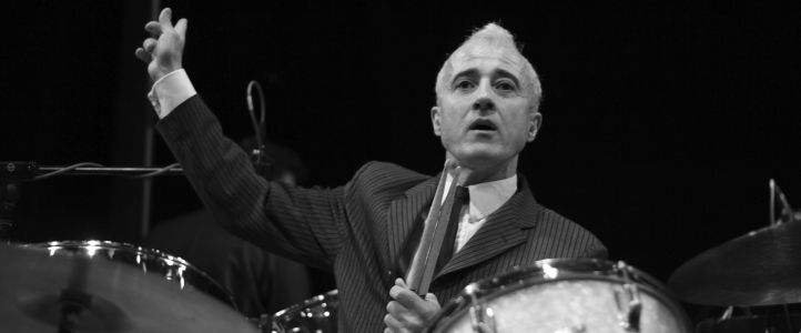 Bobby Previte, drums (photo: Kate Previte)