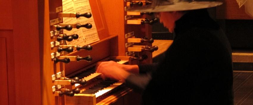 Halloween Organ Concert Witch