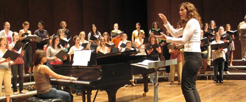 Choral Conducting, Treble Choir