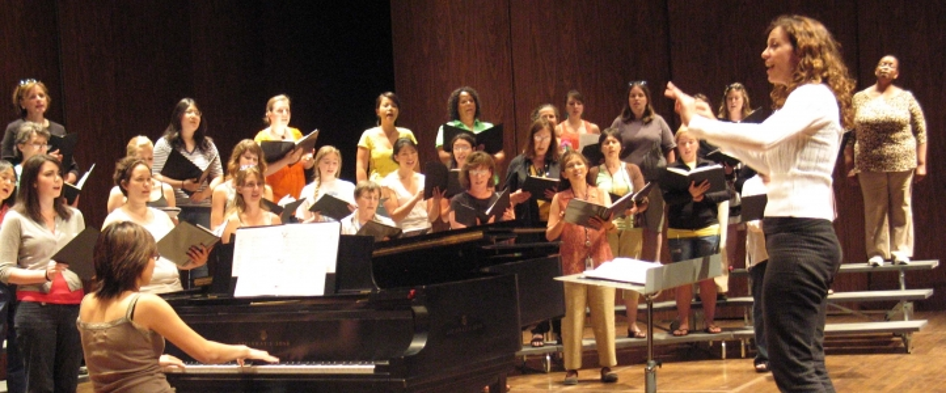 Choral conducting at the University of Washington