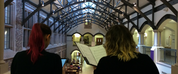 UW Collegium Musicum, the UW's early music ensemble