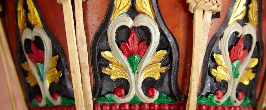 Gamelan close-up
