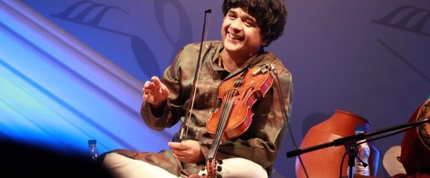 Ganesh Rajagopalan, violin