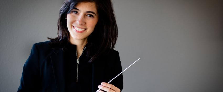 Doctoral student Gabriela Garza