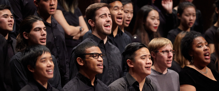 Members of UW Gospel Choir (photo: Steve Korn)