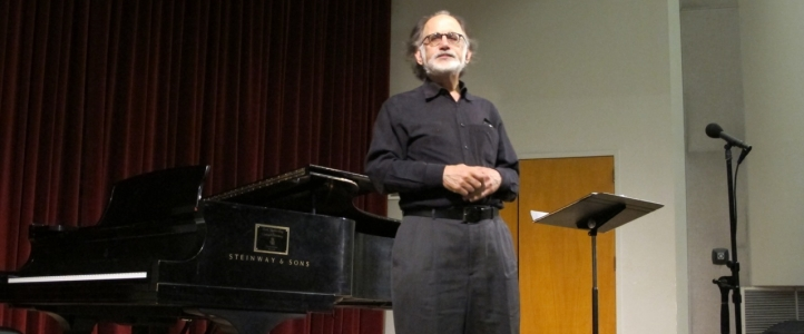 Scholar Joseph Horowitz partiipated in the UW's Festival of Ives in Spring 2013.