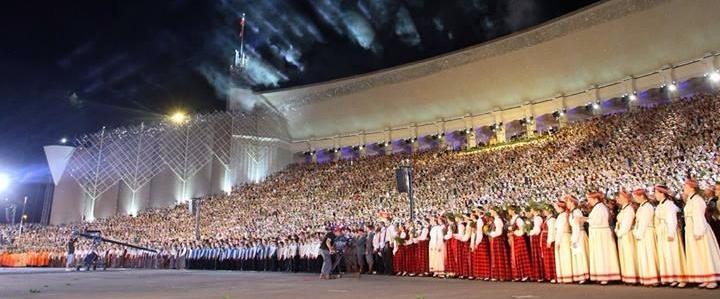 Latvian Song Festival Mass Choir 2013