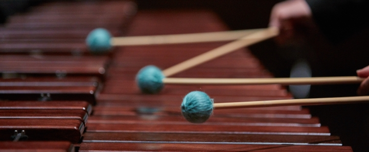 Mallets closeup
