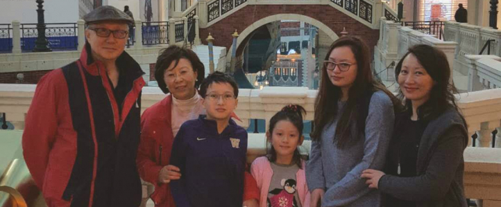 Molly Gong Family