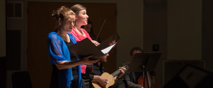Singers at the Shakespeare Conference