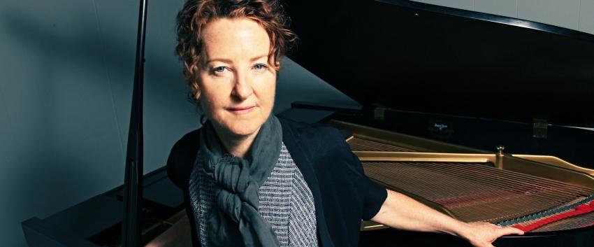 Myra Melford, Piano - Photo by: Bryan Murray