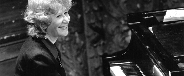 Ursula Oppens, piano by Steve J. Sherman