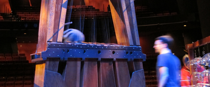 Harry Partch instruments at the UW