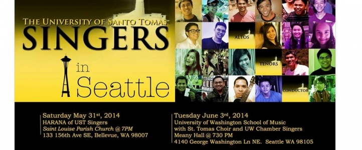 The Santo Tomas University Choir joins the UW Chamber Singers for a concert at Meany Theater on June 23.