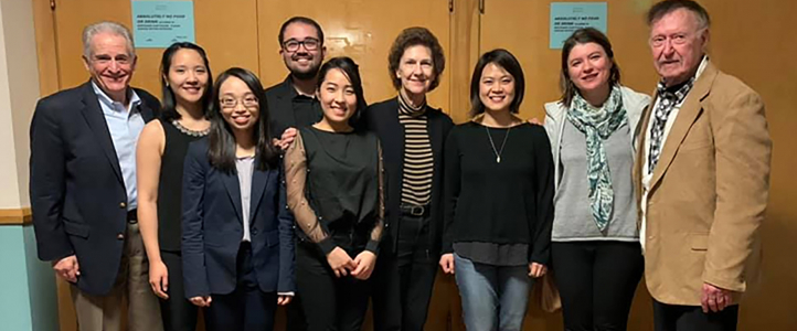 Concerto Competition winners, faculty, and judges. Photo: Sam Kui.