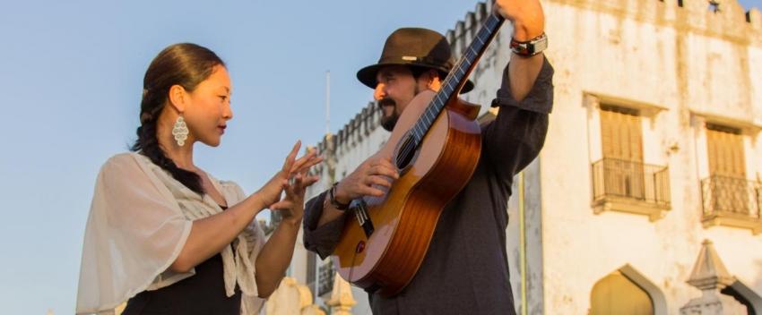 Ricardo Garcia, flamenco guitar (photo N. Calvin)