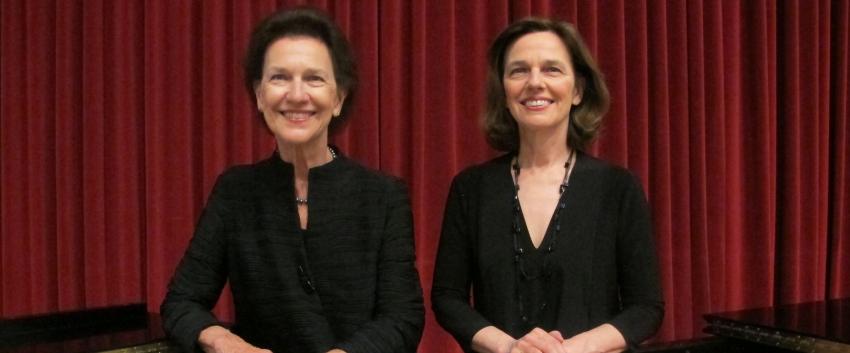 Robin and Rachelle McCabe, piano