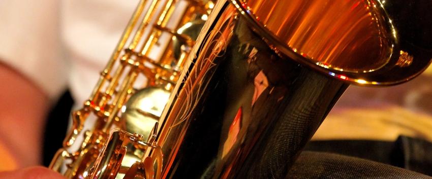 Saxophone quartet at Tent City 3 - UW Music