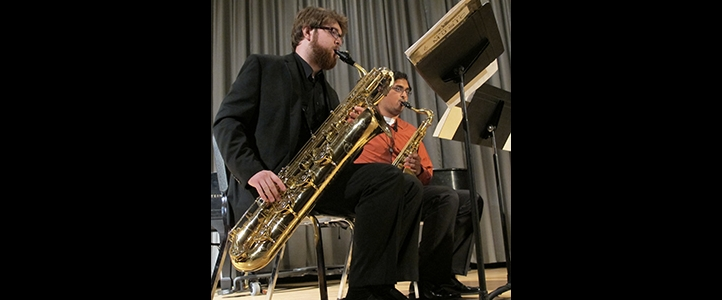 Saxophone Quartet | School of Music | University of Washington